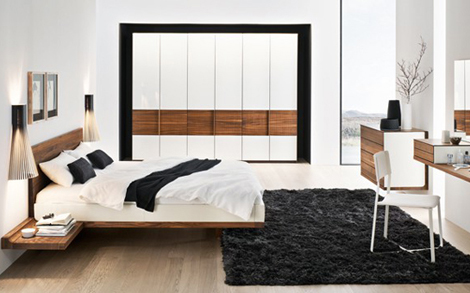 team 7 designerm bel in hamburg bett riletto kleiderschrank relief. Black Bedroom Furniture Sets. Home Design Ideas